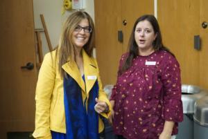 COSF Directors Marcella Ketelhut and Christina Robertson.